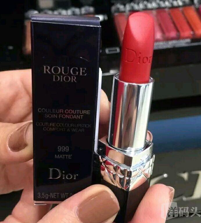 Dior 迪奥烈焰蓝金系列口红999新款哑光 Dior