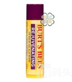 商城原价35 美国原装 Burt's Bees小蜜蜂红石榴味护唇膏4.25克