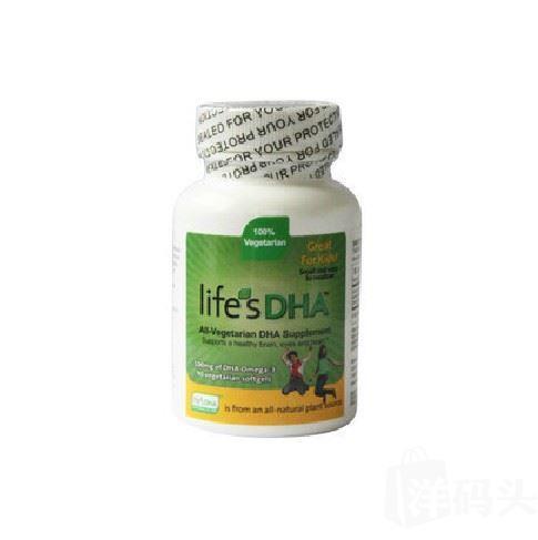 美国Martek life ' s DHA婴幼儿海藻油DHA 90粒