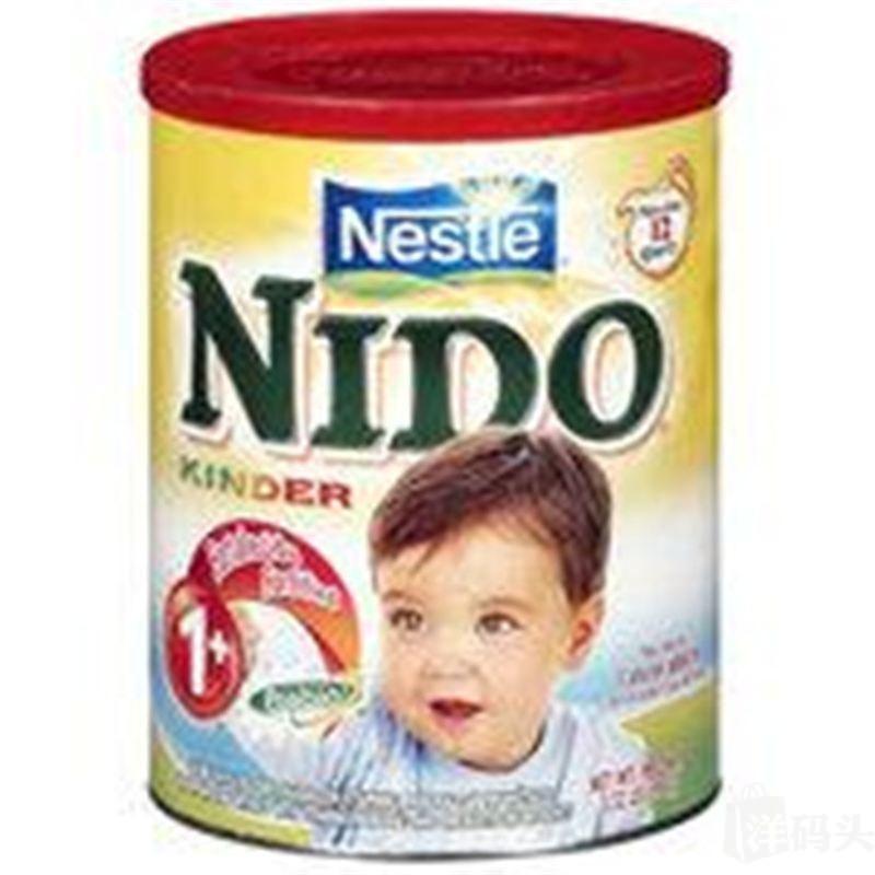 美国直邮Nestle雀巢NIDO益生元营养组合全脂即溶奶粉1600克1岁+