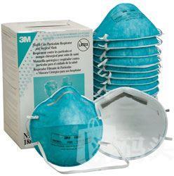 美国代购正品 3M N95 医用防护口罩 头带式 20个装 防尘防流感