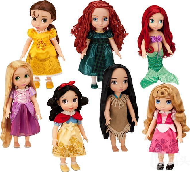 美国直邮 迪士尼Disney2013年动画师系列 新款 公主沙龙娃娃