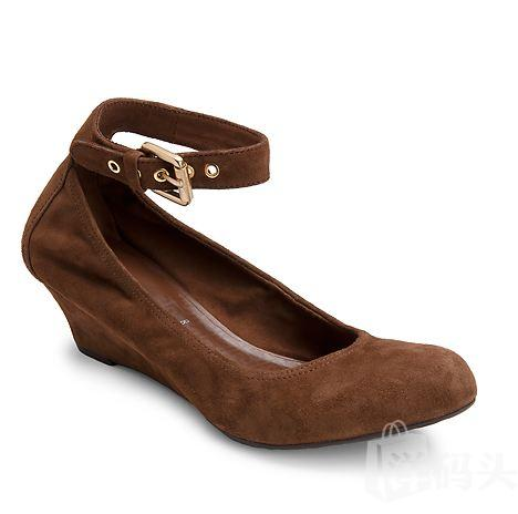 Rockport 乐步Alika Anklestrap Wedge Pump 女款休闲鞋
