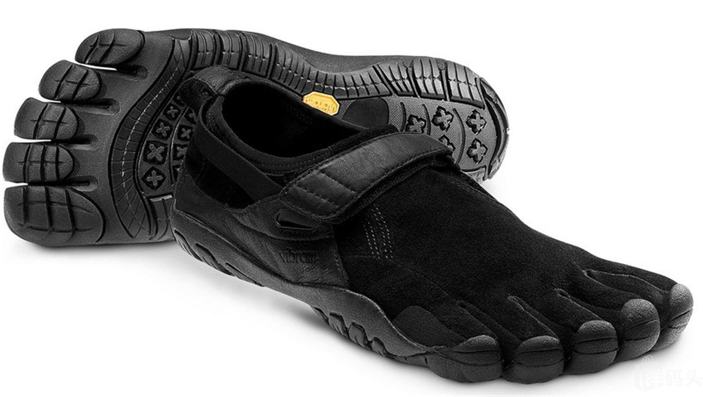 Vibram Fivefingers KSO Trek 五指鞋 赤足鞋(袋鼠皮) 男款黑色
