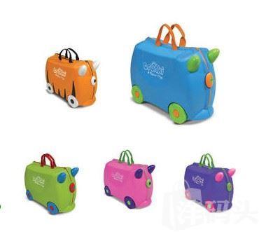 Trunki儿童行李箱 旅行箱 玩具收纳箱