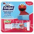 Orajel 欧乐 宝宝无氟可吞咽牙膏19.8g +指套刷
