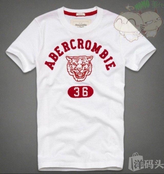 美国代购 Abercrombie Fitch T恤 多色多款