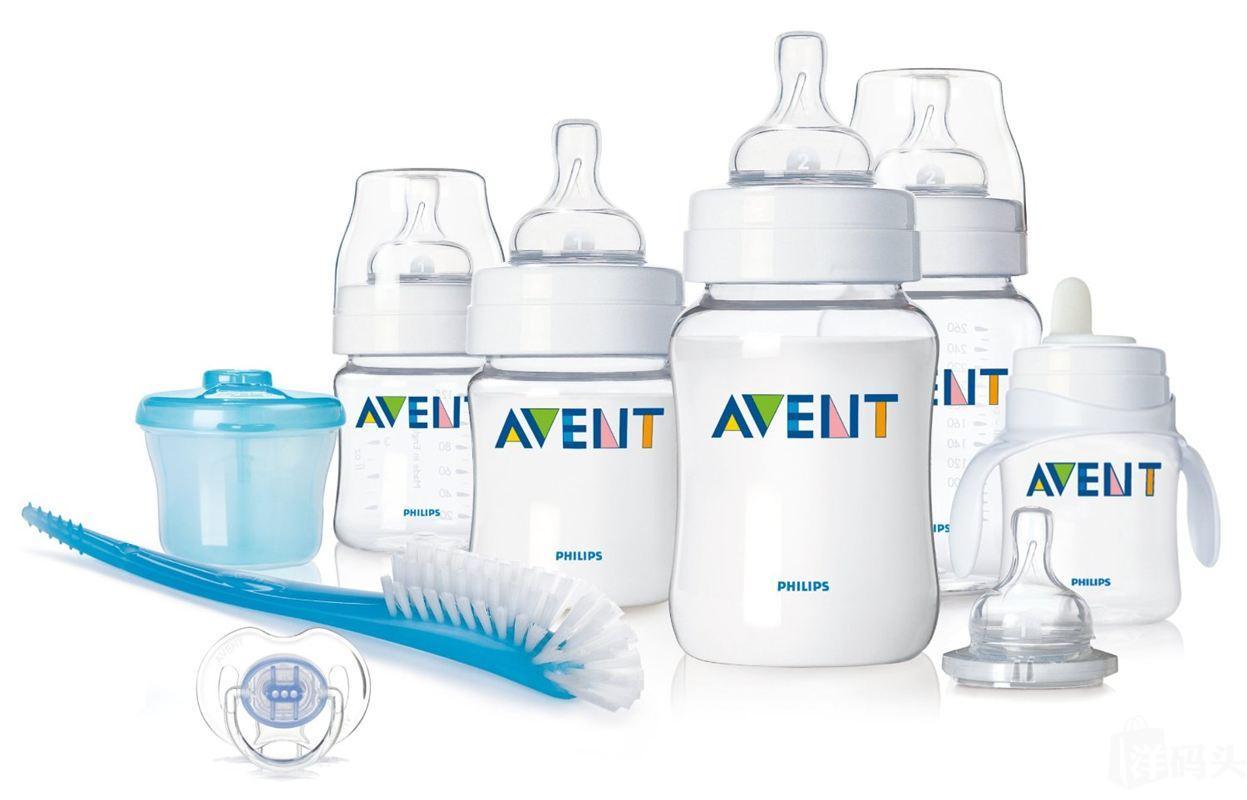 【新店促销】美国Avent新安怡新生儿奶瓶(不含BPA) 8件套礼品装