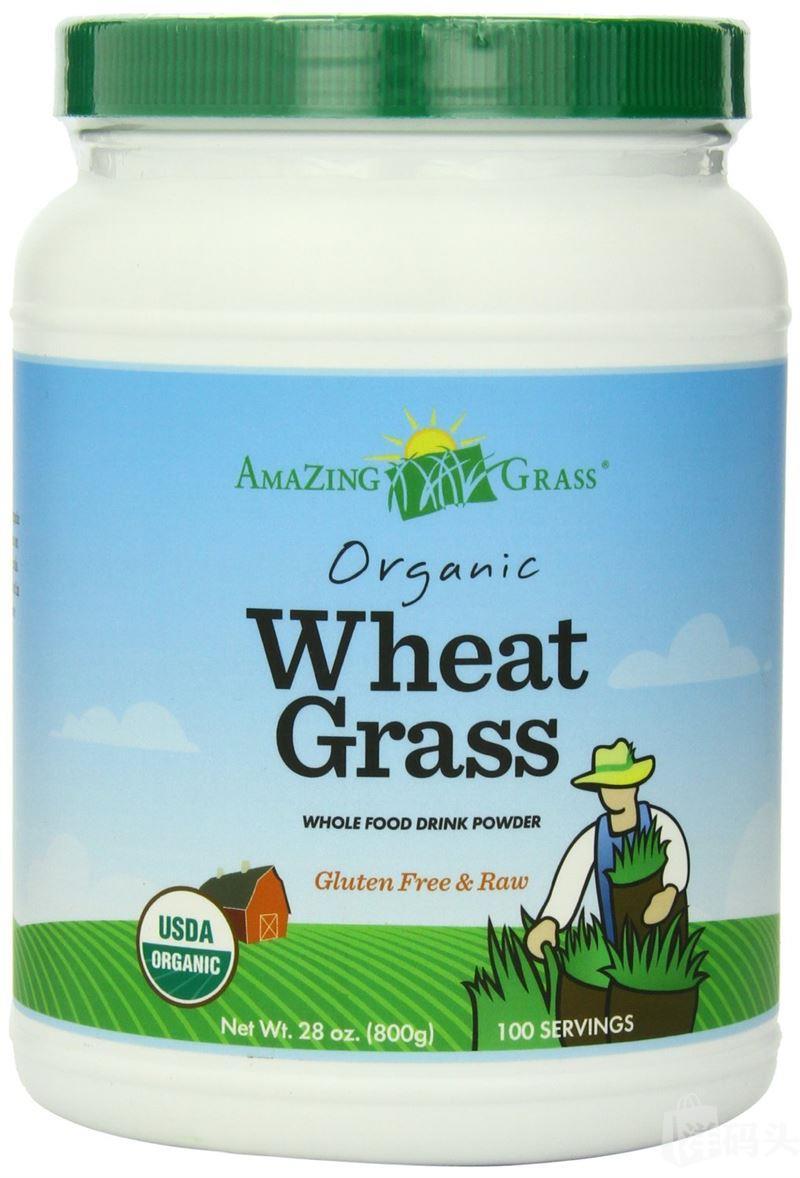 美国Amazing Grass 神奇有机小麦草粉 800g全营养 清肠排毒减肥