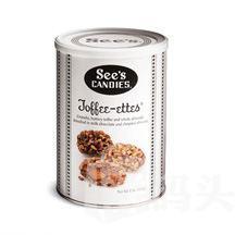 现货 美国 See s candies Toffee-ettes脱脂杏仁巧克力太妃糖