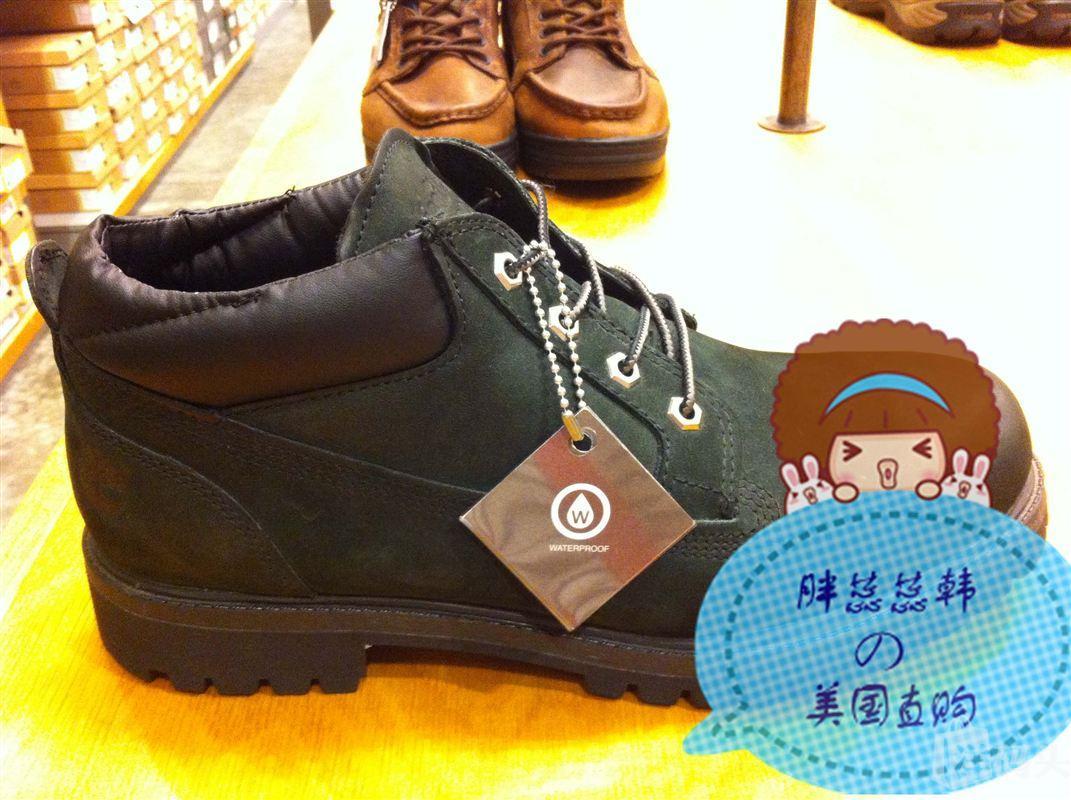 【美国现货】Timberland #73537 2013年男款 矮腰马丁靴 经典黑色
