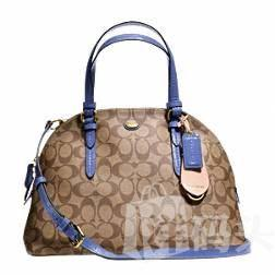 [护航直邮] Coach/寇驰 PEYTON CORA DOMED SATCHEL - F24606