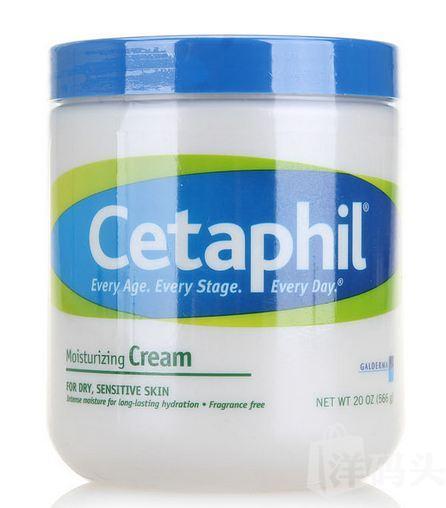 Cetaphil/丝塔芙 保湿润肤霜 566g 修护舒缓面霜 温和