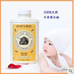 127 Burt's Bees 美国小蜜蜂夏季婴儿玉米爽身粉 预防痱子粉127g