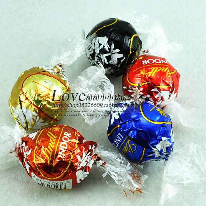 喜糖瑞士莲Lindt Lindor松露混合软心巧克力球 5种口味选择 单粒