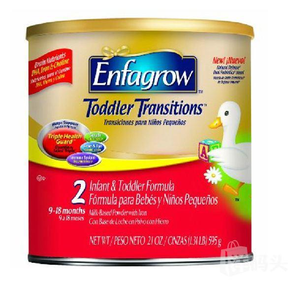 美赞臣Enfagrow2段二段金樽奶粉595g 9个月以上