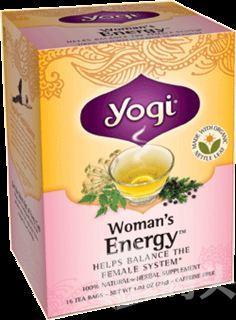 4盒包邮!Yogi Tea瑜伽当归女性能量茶 调节内分泌生理期调整养生茶!