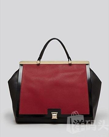美国现货 Furla Satchel - Cortina Large Top Handle 真皮手提包