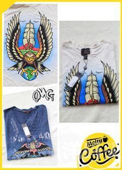特!made in USA [Ed hardy] 男士优质纯棉TEE