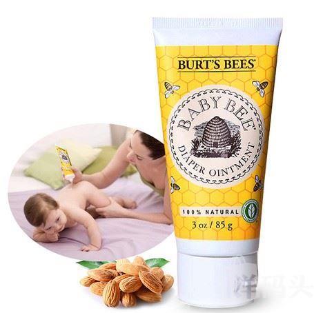 Burts Bees美国小蜜蜂婴儿宝宝护臀膏护臀霜尿布疹膏85g