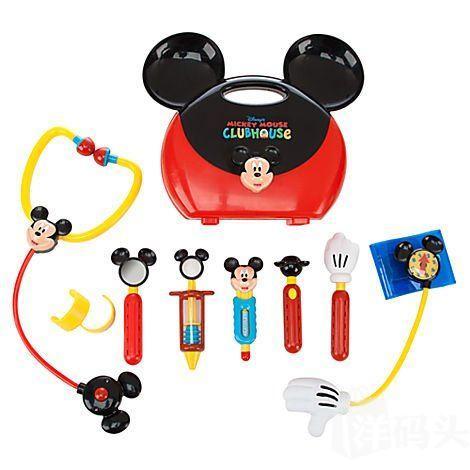 正品迪士尼Disney 超有趣医生玩具套装米奇俱乐部