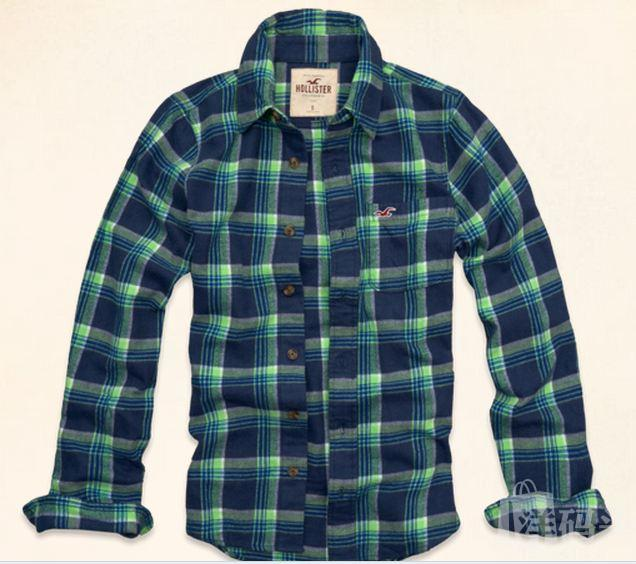 HOLLISTER 海鸥衬衫 AF副牌 HOLLYWOOD BEACH FLANNEL SHIRT
