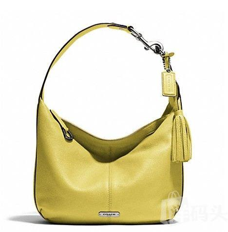 蔻驰 AVERY LEATHER SMALL HOBO_F23960