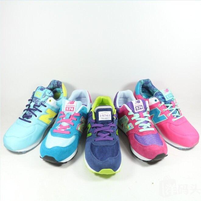 【清仓国内现货】New Balance新百伦574女鞋NB14夏款KL574