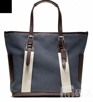 包邮包税 coach蔻驰男士布里克帆布手提包 F70896 4种颜色