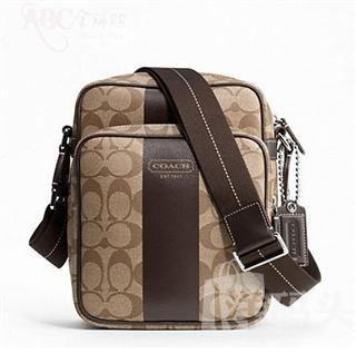 美国直邮:正品寇驰 涂层帆布男士包 Coach Men's Bag F70589