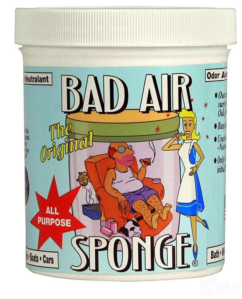 美国Bad Air Sponge 超级空气净化剂白宫御用除甲醛装修污染异味