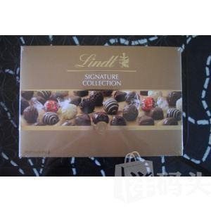 美国晓雪!Lindt瑞士莲巧克力礼盒!379克