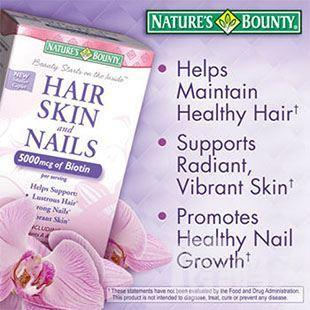 直邮 Nature's Bounty 自然之宝 发 甲复合营养片 250片 掉发美肤