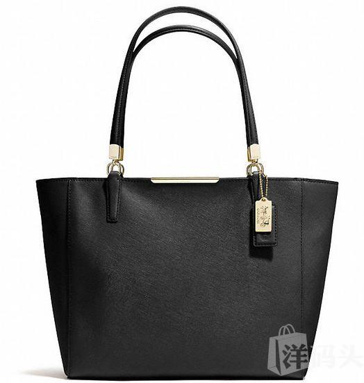 寇驰麦德逊MADISON  TOTE IN SAFFIANO LEATHER F29002( 需预订)