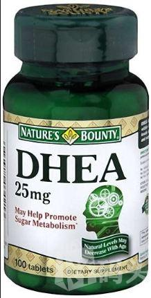 88元特卖 美国Nature's Bounty DHEA 延缓衰老卵巢保健 100粒