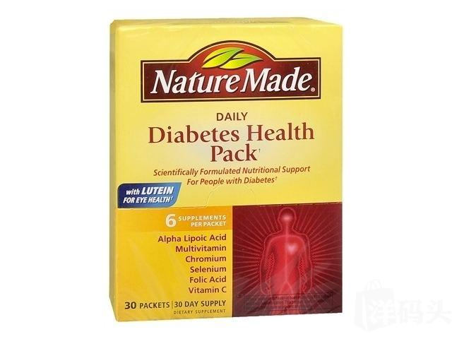 Nature Made Diabetes Health Pack 糖尿病健康包 30包