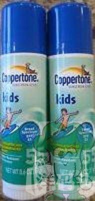 Coppertone水宝宝kids儿童便携防晒棒17g防水 SPF55