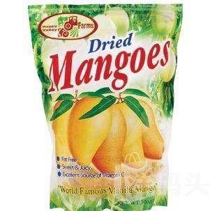美国原装特级芒果干 世界上最好芒果干 850g