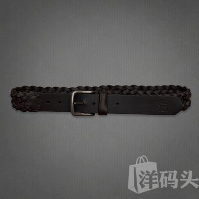 美国代购AF真皮麻花腰带GENUINE LEATHER BELT