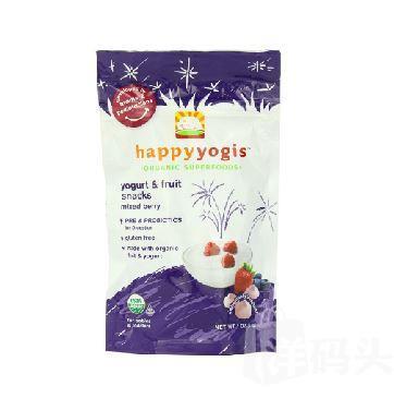 美国直邮 HappyBaby Melts混合莓酸奶溶溶豆(两包)