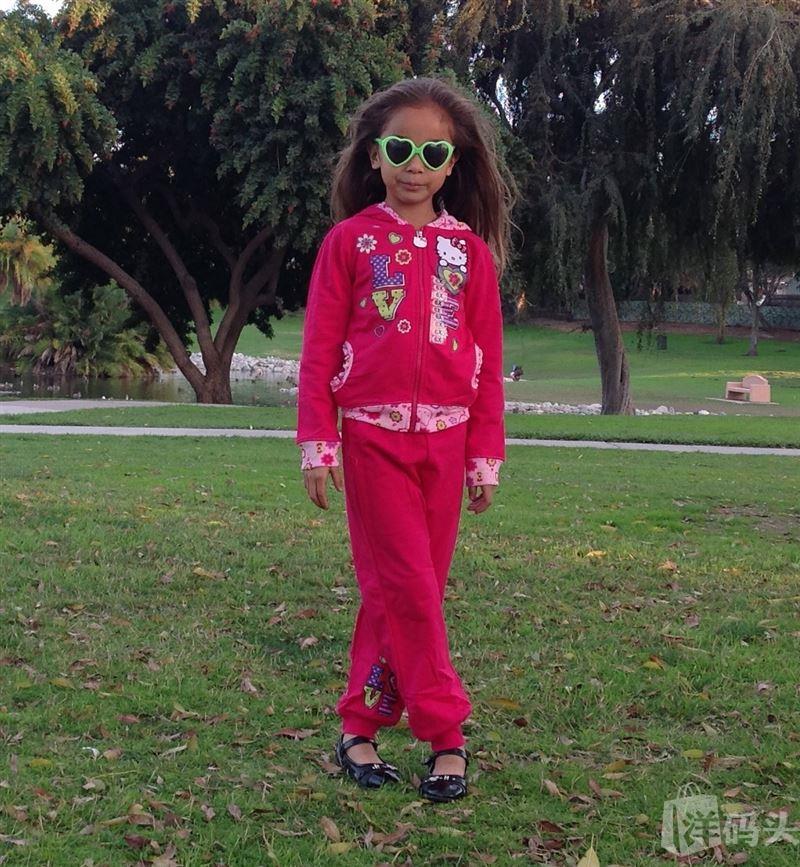 美国直邮Hello Kitty/ Minnie Mouse 时尚女童套装