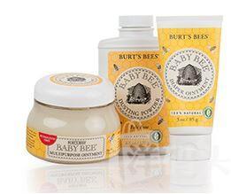 美国直邮Burt's Bees小蜜蜂婴儿宝宝尿布万用软膏爽身粉组合