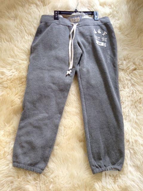 美国代购Abercrombie&Fitch AF女式完美臀部系列七分卫裤