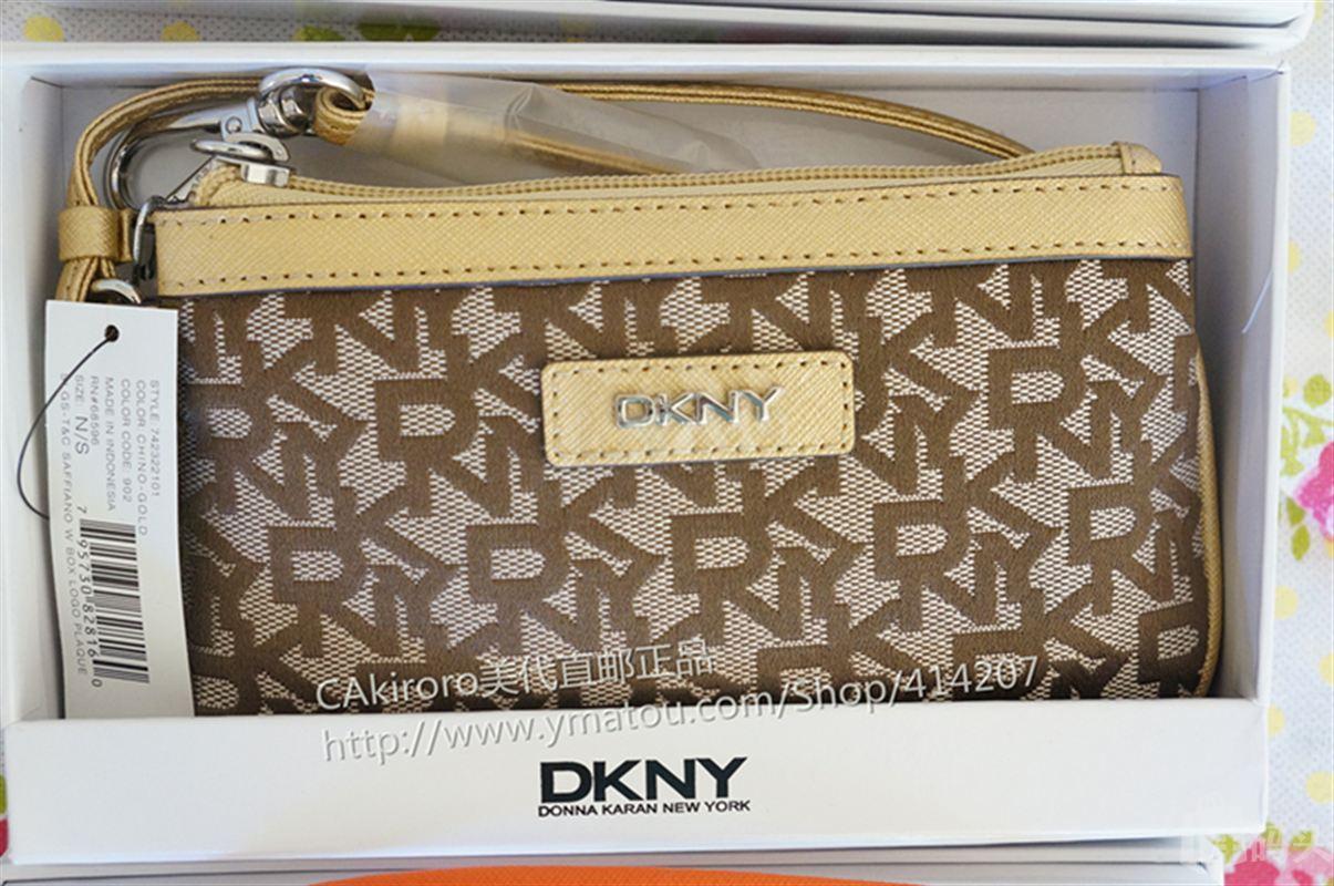 DKNY唐娜卡伦正品女士牛皮手腕包