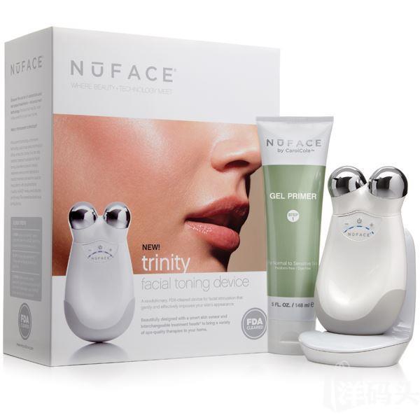 现货 美国NuFace Trinity微电流面部紧肤纤脸器电子美容仪 含凝胶