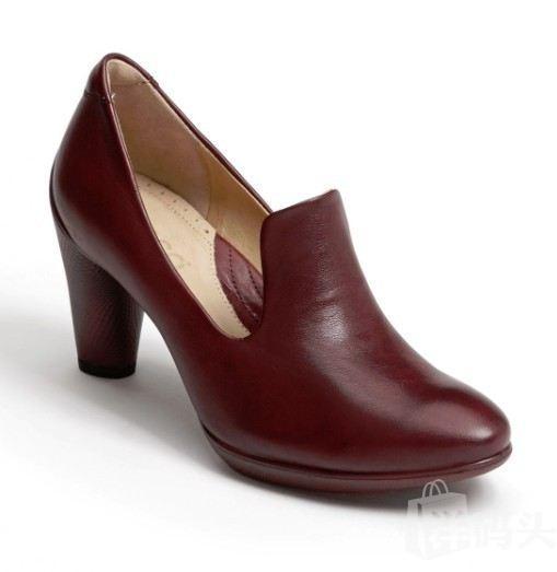 预售!美国晓雪!ECCO女款高跟皮鞋!