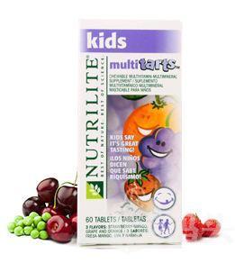 美国安利纽崔莱儿童多种营养咀嚼片 104276