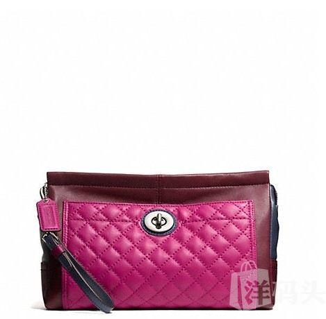 蔻驰 PARK QUILTED LEATHER LARGE CLUTCH_STYLE  F50147