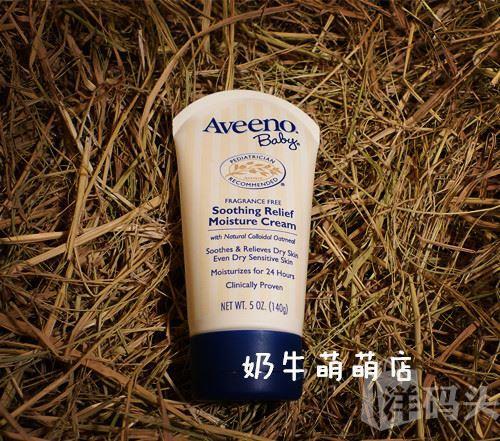 【预售】美国Aveeno baby婴儿燕麦舒缓润肤乳霜140g缓解奶藓湿疹