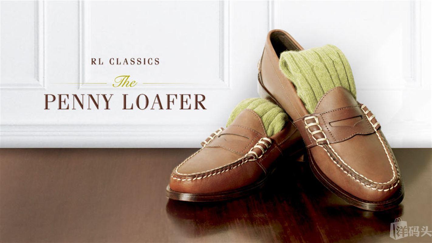 美国直邮 POLO RALPH LAUREN 男士纯皮 皮鞋